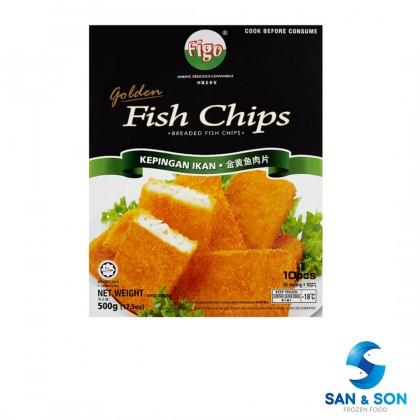 Figo Golden Fish Chip 500g