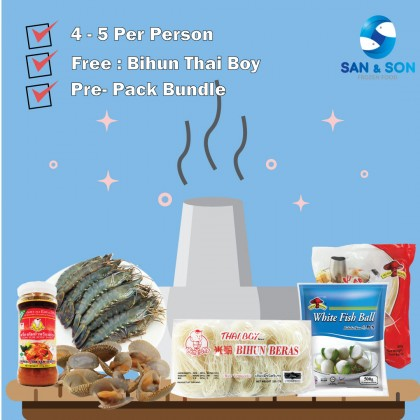 Steamboat Package A ( 4 ~ 5 Per Person )