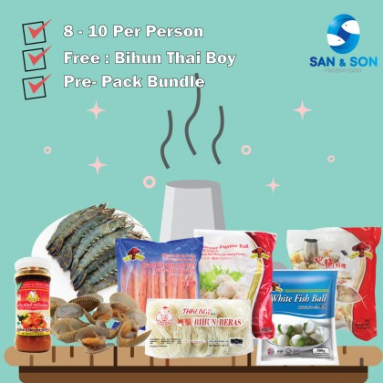 Steamboat Package B ( 8 ~ 10 Per Person )