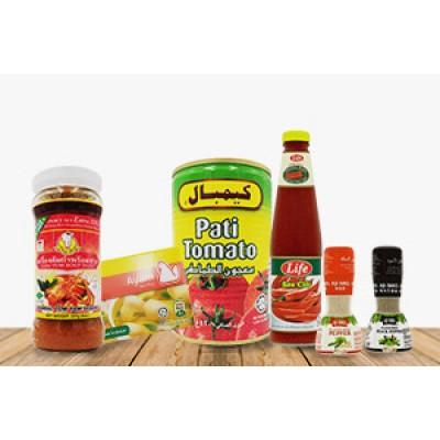 Seasoning & Sauce